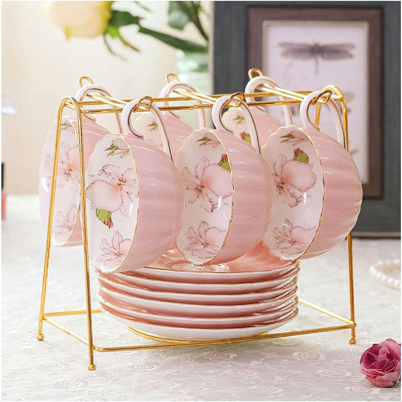 Coffee Mug British Afternoon Tea Flower Albuquerque Mall Fashionable Household Ha Set Cup