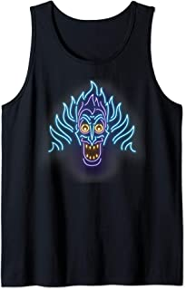 Villains Hades Neon Line Art Tank Top