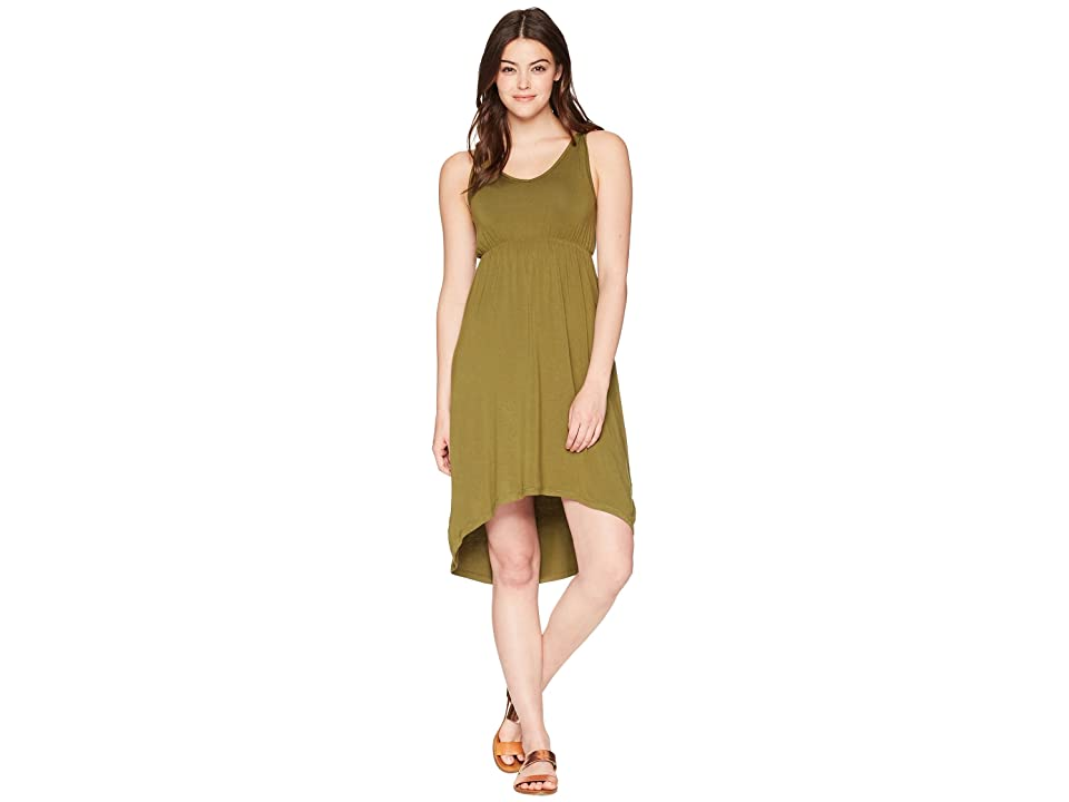 KAVU Ravenna Dress (Avocado) Women