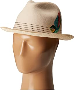 CARLOS by Carlos Santana - Felt/Hemp Braid Fedora