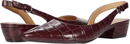 Cab Sav Croco Print Leather