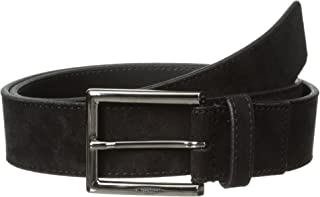a.testoni Men's Casual Suede Belt
