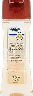 Equate Moisture Care Cocoa Divine Body Oil Gel, 6.8 fl oz  (Pack of 2)