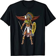 Aztec Eagle Warrior Native Mexican T-Shirt