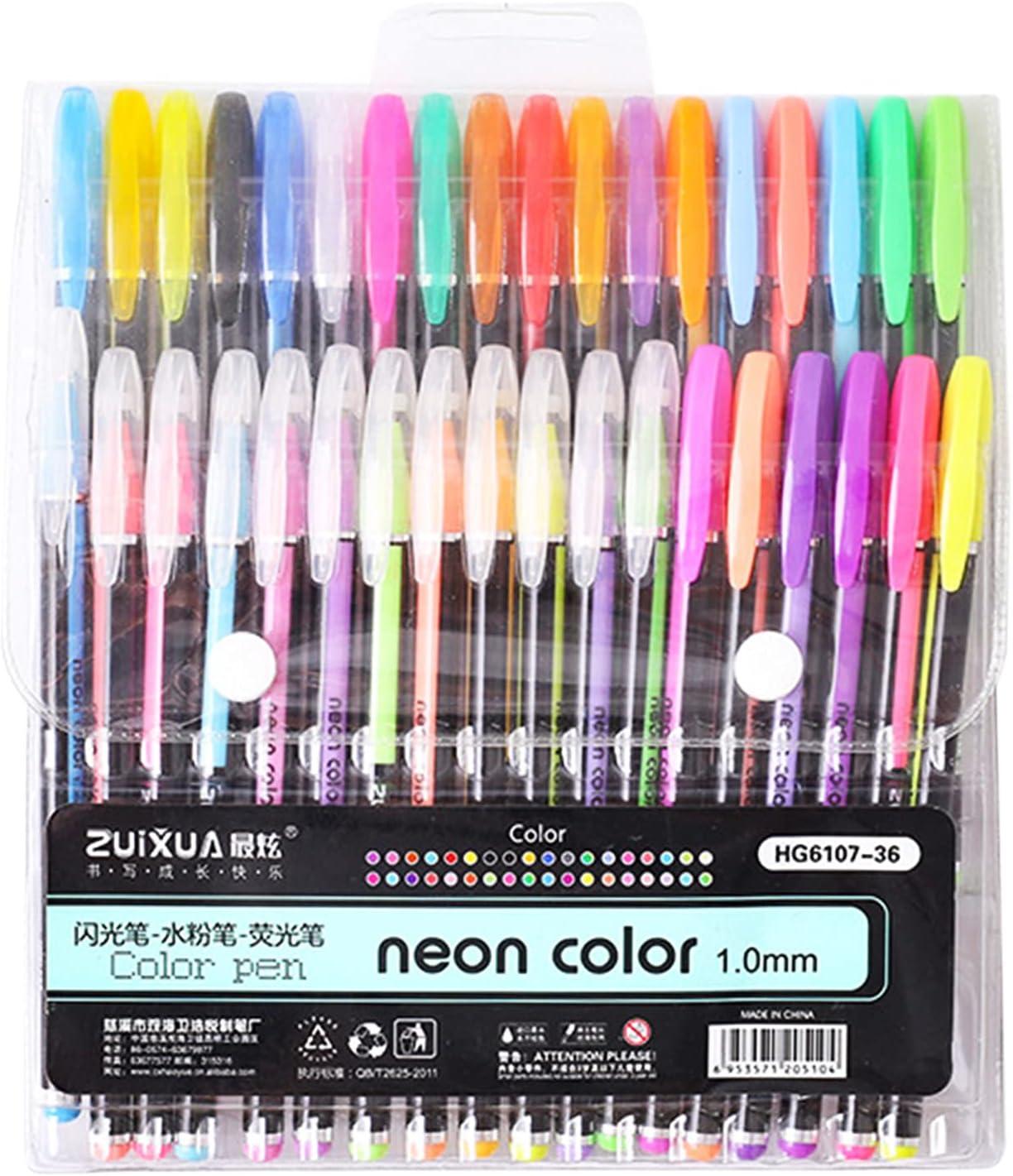 36 latest service Colors No Duplicates G-el Pens Set Kit Dr 1mm for L-ead Pen