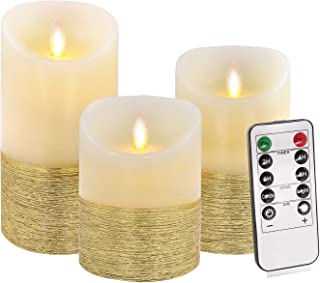 Flameless Candles Flickering, Battery Led Candles Set of 4