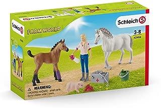 Schleich Vet Visiting Mare & Foal, Multi