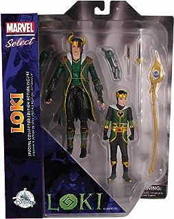 Marvel Select Diamond Loki with Kid Loki Special Collector Edition Action Figure Set