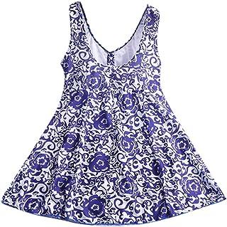 Tankinis Mujer Trajes De Baño De Una Pieza Vestido De Talla Grande Vestido De Baño