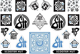 The Scooter Hut A5 Sticker Sheet | v3.0