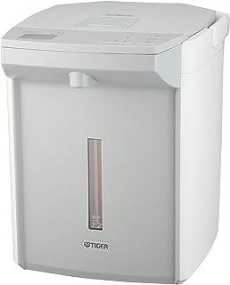 タイガー 電気ポット 2.2L ホワイト 蒸気レス 節電 VE 保温 とく子さん PIJ-A220-W