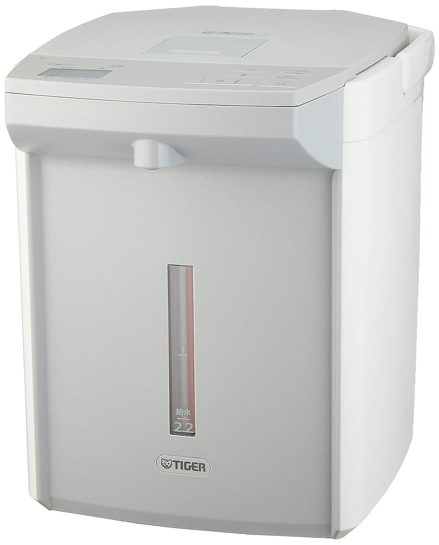 食物天使薬タイガー 電気ポット 2.2L ホワイト 蒸気レス 節電 VE 保温 とく子さん PIJ-A220-W