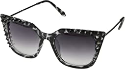 Studded Cat Eye Frame