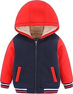 Toddler Youth Boys Girls Sherpa Fleece Lined Jacket 2T-14...