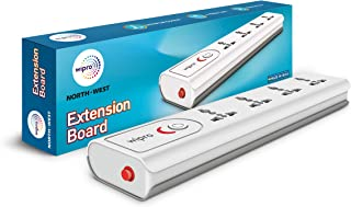 wipro Extension Board with 4 universal sockets