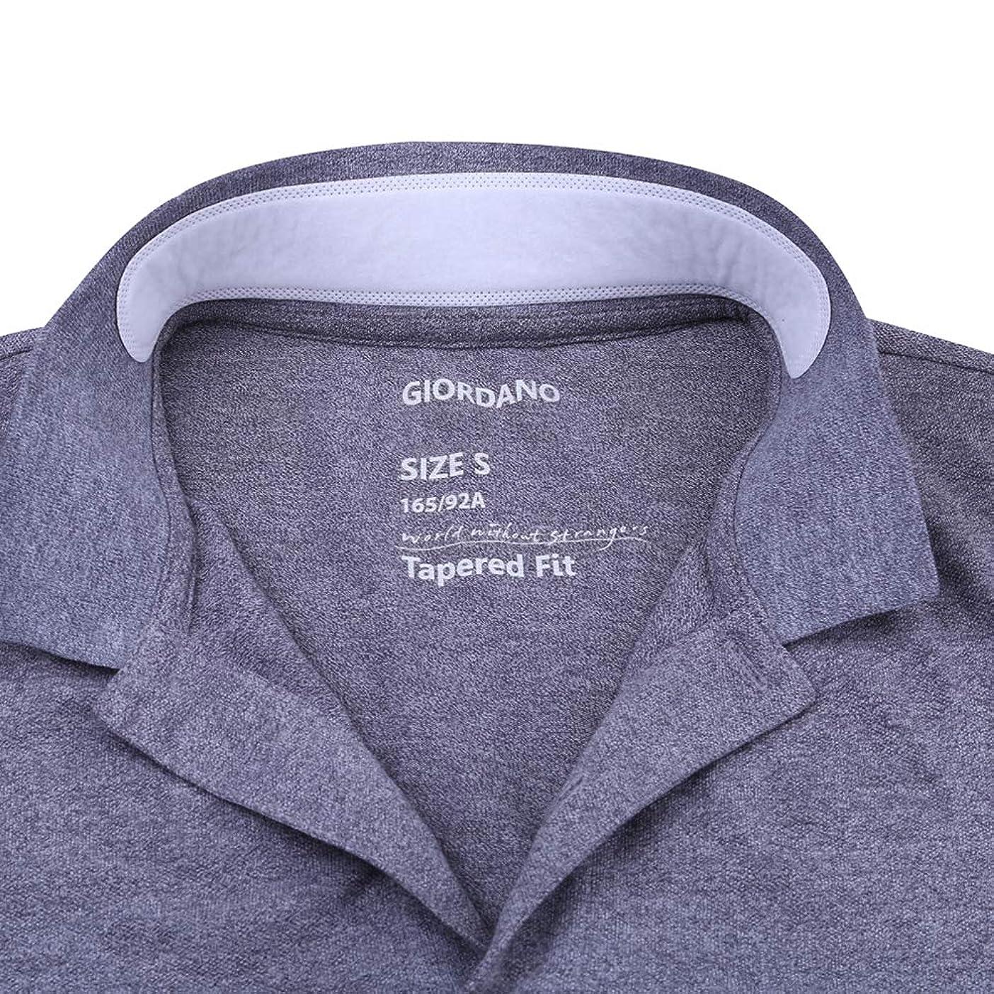 OUNONA よごれガードテープ 襟 汗取りパッド ワイシャツ 汗取りシート えり汚れ防止 100枚