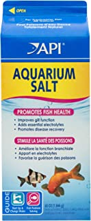 API Aquarium Salt, Promotes Fish Health and Disease Recovery in Freshwater Aquariums, Use When Changing Water, When Setting up a New Freshwater Aquarium and When Treating Fish Disease