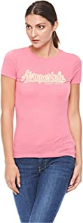 Aeropostale T-Shirts For Women, M, Pink