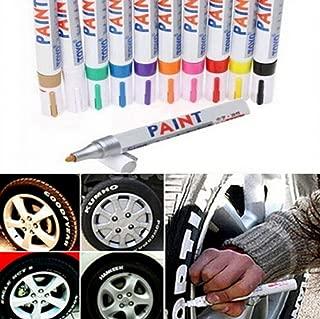 12 Color Universal Waterproof Permanent Paint Marker Pen Car Tyre Tire Tread Rubber Metal