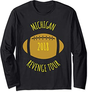 MICHIGAN REVENGE TOUR 2018 TSHIRT MICHIGAN REVENGE TOUR TEE