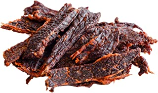People's Choice Beef Jerky - Tasting Kitchen - Nashville Hot - Pounder of Super Spicy Jerky - Compare to World's Spiciest Heat of Carolina Reaper, Scorpion, Ghost Pepper - 1 Pound, 16 oz - 1 Bag