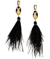 Kate Spade New York - Dashing Beauty Penguin Tassel Earrings