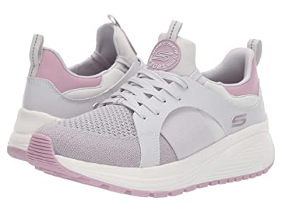 BOBS from SKECHERS Bobs Sparrow 2.0 Metro Daisy (Gray/Mauve) Women