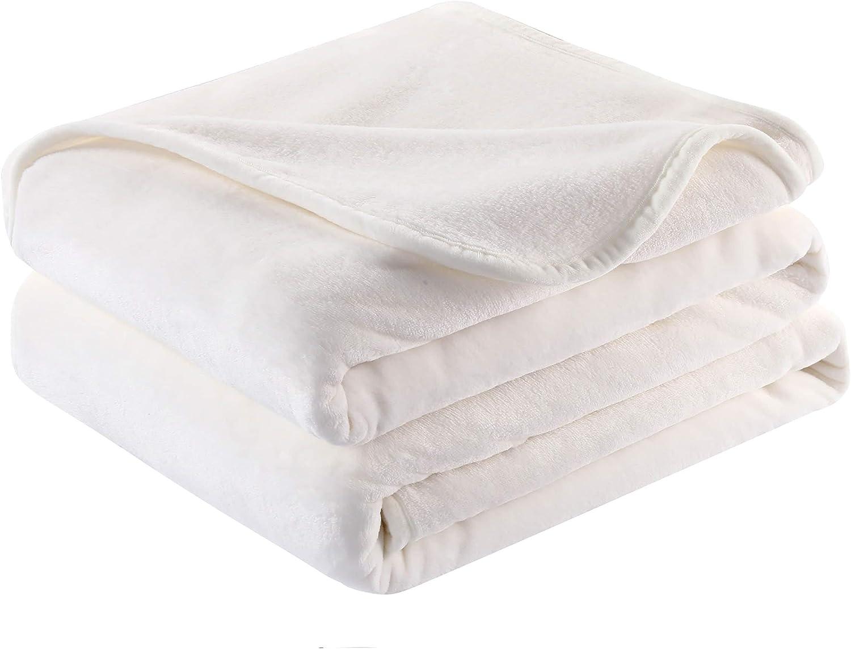 Surii Home Luxury Microfiber Max 53% OFF Flannel Warm Blanket Oklahoma City Mall Soft Super