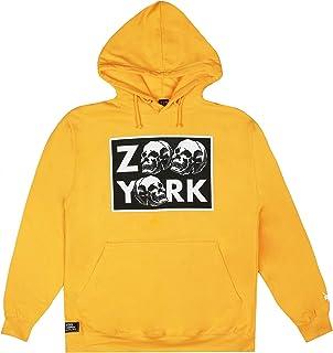 Zoo York Stacked Skull Hood Felpa con Cappuccio Uomo