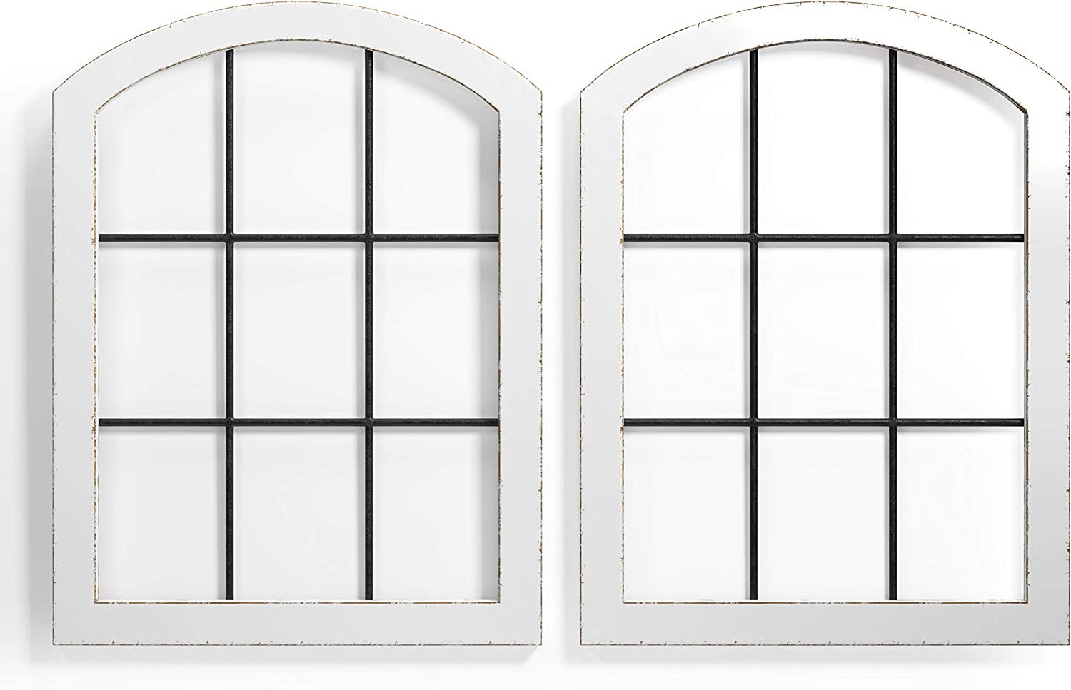 Barnyard Designs Rustic Cathedral Houston Mall Bombing free shipping Arch Window Decorative Frame