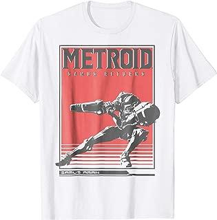 Metroid Samus Returns Side Pose Graphic T-Shirt