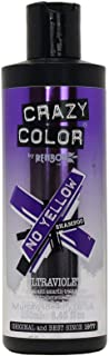 Crazy Color No Yellow Shampoo 250ml (Ultraviolet)