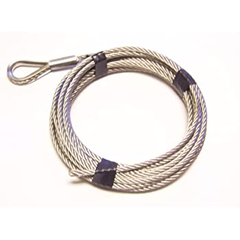 yan 7 x 19 Galvanized Aircraft Cable Wire Rope 1//4-50 ft