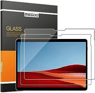 【2枚入り】MEGOO 保護フィルム 対応 Microsoft Surface Pro X(13 インチ),HDガラス,9H強化ガラス, 優れた感度 強化ガラス 保護フィルム