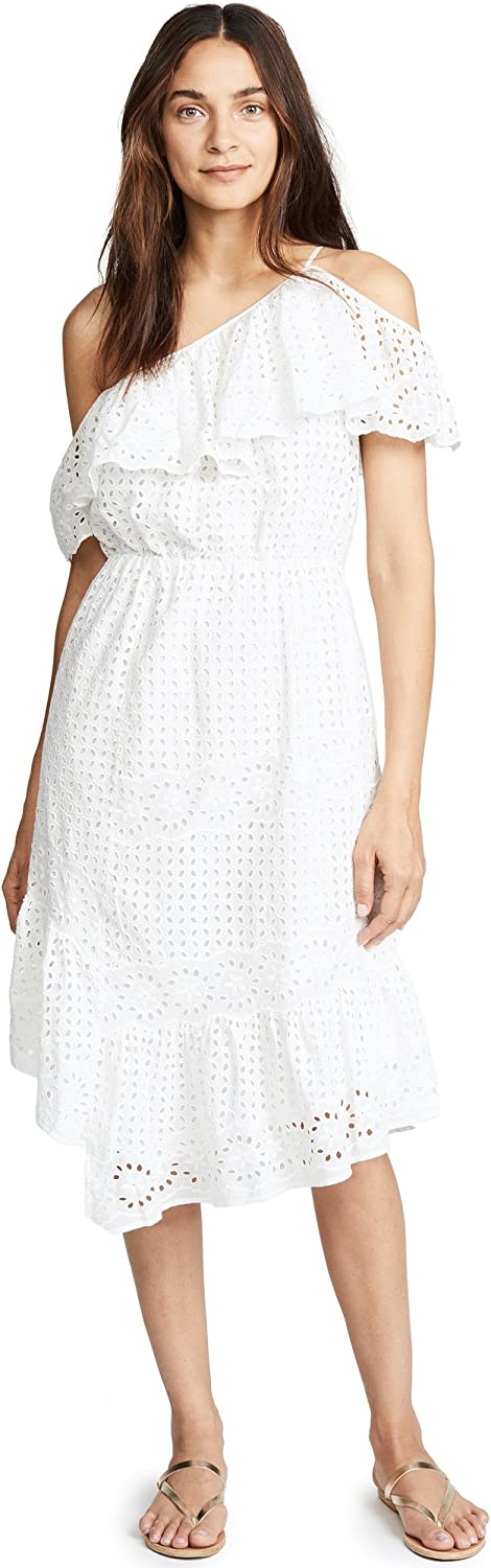 Joie Womens Corynn Lace OneShoulder Dress Special Occasion Dress