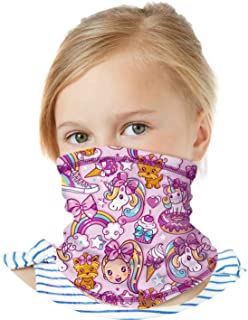 Girls Jojo Siwa Gaiter Face Mask with UV Sun Protection