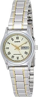 ساعة كاسيو LTP-V006SG-9BUDF بعرض انالوج للنساء