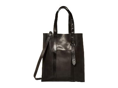 ABLE Elsabet Adjustable Tote (Black) Handbags