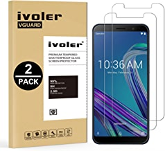 iVoler [Pack de 2] Verre Trempé pour ASUS Zenfone Max Pro (M1) ZB601KL / ZB602KL 6.0 Pouces, Film Protection en Verre trempé écran Protecteur vitre
