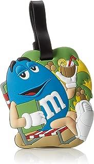 M&M Jumbo Blue Luggage Tag, One Size With Write-on Address Panel