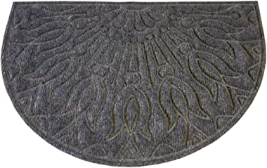 oKu-Tex Doormat, Polypropylene, Charcoal, 40 x 60 x 65 cm