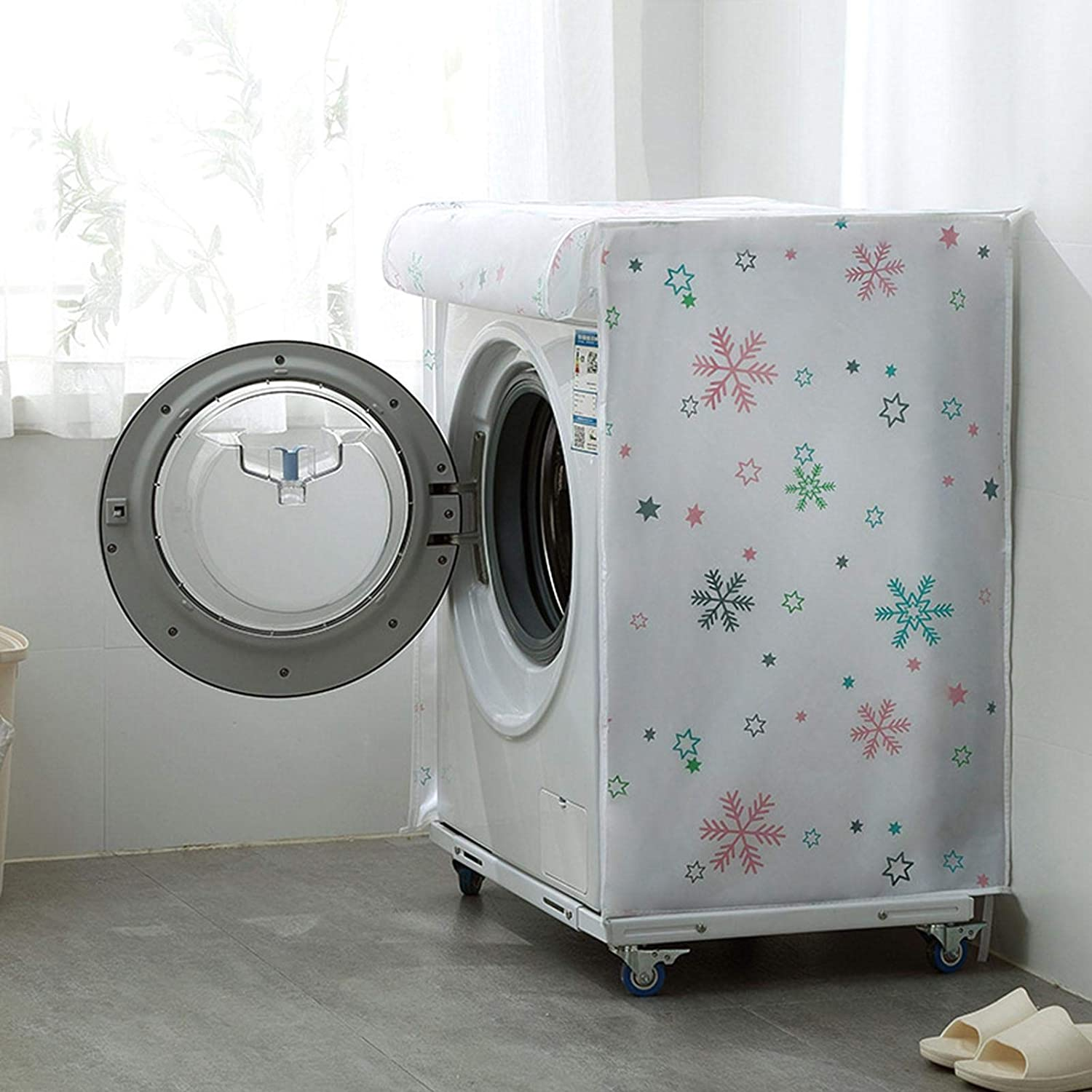 Washer Cover Protector with Zipper Design for Easy Use,Waterproof ...