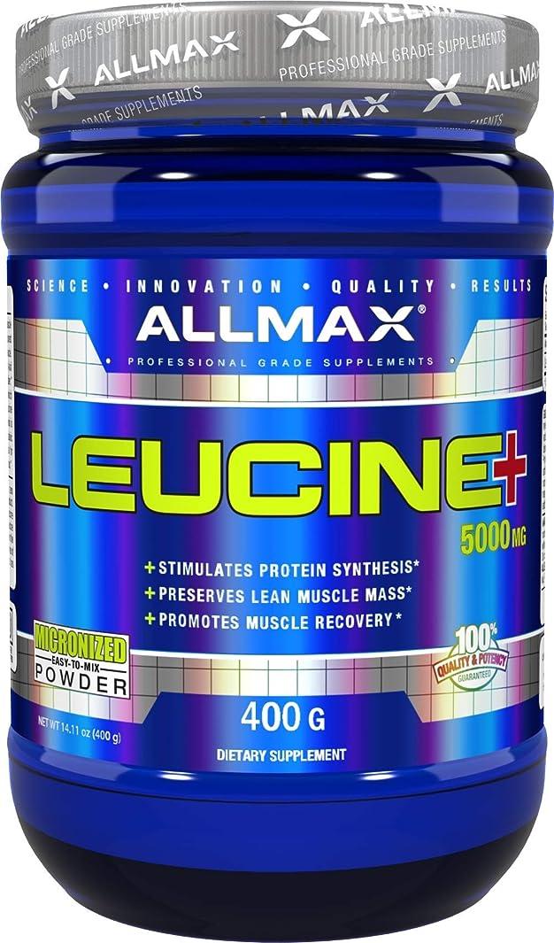 エンゲージメント次こしょうAllmax Nutrition オールマックス ニュートリション ロイシン 400g