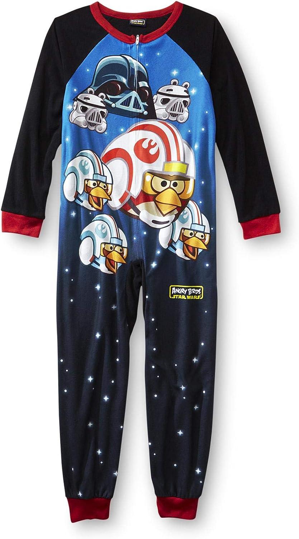 Angry Birds Star Wars Boy Sleeper Pajama (L 10/12)