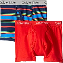 2-Pack Cotton Stretch Boxer (Little Kids/Big Kids)