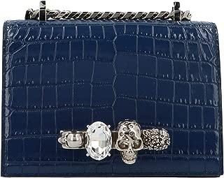 Luxury Fashion | Alexander Mcqueen Womens 5585411HB0Y4015 Blue Shoulder Bag | Fall Winter 19