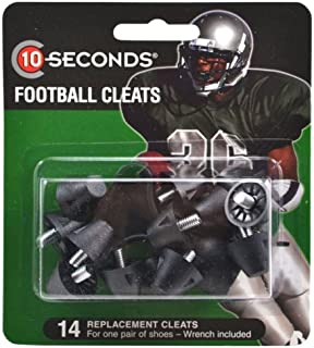 10-Seconds 14 Replacement Football Cleats 3/4