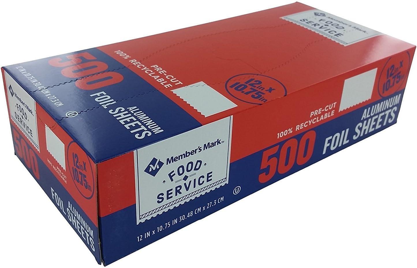 El Paso Max 81% OFF Mall Daily Chef Foil Sheets 10.75