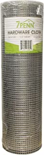 7Penn Small Chicken Wire Fencing Wire Mesh Screen Roll, Garden Mesh Roll Wire Netting - 1/2in x 36in x 100ft
