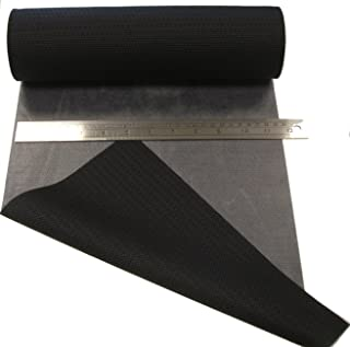 0.5m Repair Patch Material Melco T-5500 –Wetsuit/Dry Suit, Scuba - Hot Melt, Iron On (Black, 300mm Width)